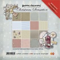 Yvonne Creaciones - Papel Paquete - Sensación de Navidad
