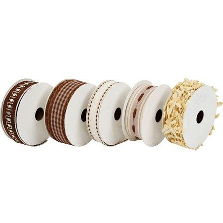 DEKOBAND / RIBBONS / RUBANS ... 5 cintas decorativas