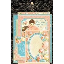 Graphic 45, Precious Memories Ephemera Cards