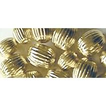 Grooves perles, or, 8mm