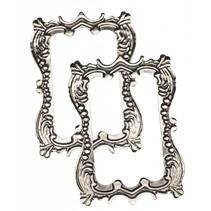 "Metal-frame ""romance"" 7,0 x 5,0 cm"