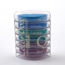 Colorbox Stempelink: 6 forskellige farver Cat Eye