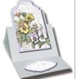 "BASTELSETS / CRAFT KITS: Carte florale ensemble de ""Staf Wesenbeek"""