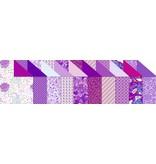 """DESIGNER BLÖCKE  / DESIGNER PAPER Tablero de Diseño """"Amethyst"""", bloque de 20 hojas, 200g, impresa por ambos lados"""
