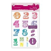 Stamp avec un grand nombre