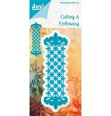 Joy!Crafts und JM Creation Plantilla de metal Frontera B 3,7 x 12 cm