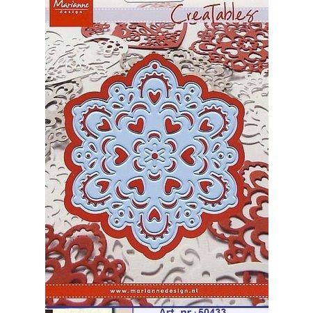 Marianne Design, Fiocco di neve, LR0185.