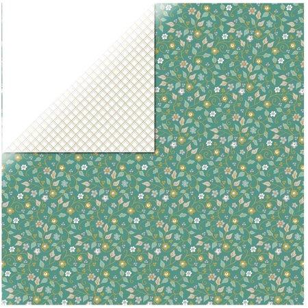 Designer Papier Scrapbooking: 30,5 x 30,5 cm Papier 1 arc papier concepteur, Elegance - Inspired
