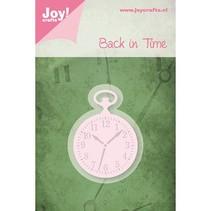 Joy Crafts, Cutting & Embossing, Taschenuhr, 36,5 x 50mm.