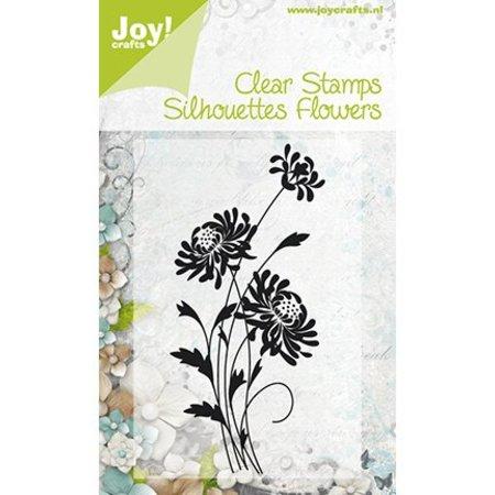 Joy!Crafts und JM Creation Alegría manualidades, sellos transparentes Flores 4, 47x100mm.