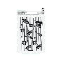 A5 Embossing Folder - Blossom Stripes