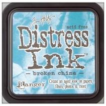 """Tinta Distress """"de porcelana rota"""""""