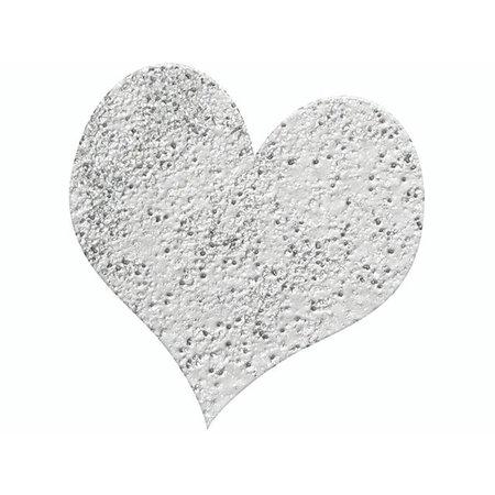 FARBE / INK / CHALKS ... Prægning Pulver 10g sølv glitter