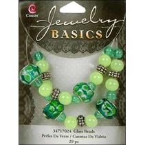 Smykker håndværk sæt med glasperler