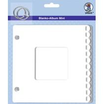 """Blank mini album """"passepartout"""", 800 gr / kvm, 6 ark"""