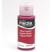 DecoArt acryliques fluides de médias, Magenta primaire