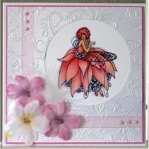 Stamp Set A6 Frou Frou Unmounted caoutchouc Designer - paillettes et du glamour