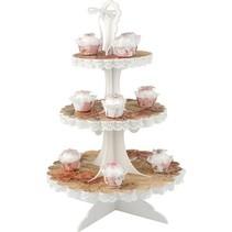 3D plateau de petit gâteau