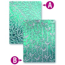 Prägeshablone plástico M-Bossabilities con 2 motivos
