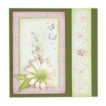 Stempling og prægning stencil, multi-blomsten 9 Chrysant