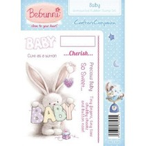 A6 Unmounted Rubber Stamp Set - Baby