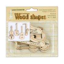 Musicals instrumenter lavet af træ