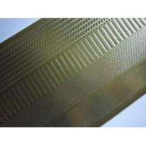 Autocollants, les marges étroites, de l'or-or, taille 10x23cm