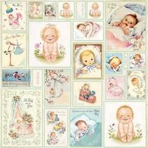 Designer Bow, 30,5 x 30,5 cm, bébé nouveau-né 7