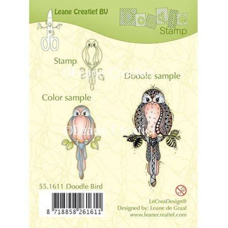 Leane Creatief - Lea'bilities Gennemsigtige frimærker: Bird