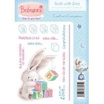 Rubber stamp, BeBunni Theme: Baby