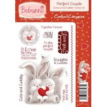 Rubber stamp, BeBunni Thème: Amour