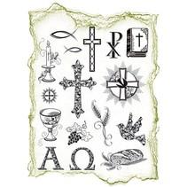 Transparente selos Tópico: ocasiões religiosas