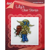 """Clear stamps, """"Lily Floral"""""""