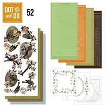 Bastelset pour 3 cartes: printemps, les oiseaux