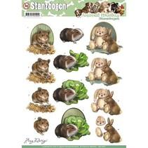 A4 cut sheets, Topic: Animals