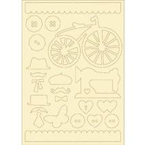 carton souple, 22er vintage set
