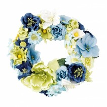 Paper Floral assortment, blue, green, white