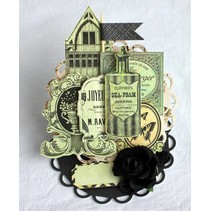 Cardstock from Kaisercraft: 75 Cents