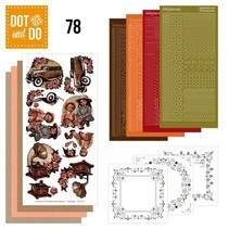 Complete Bastelset: Dot et Th 78, Vintage