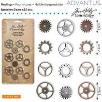 Kettenräderchen, 12 pièces d'antiquités,