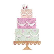 """Schneideshablone, Sizzix Bigz 658357 Le """"gâteau de couches"""""""