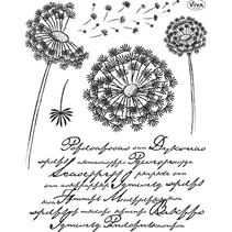 Transparent Stempel, Lowenzahn