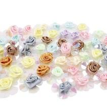 Sequin roses, assortiment, 20 pièces.