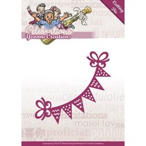 Punching and embossing template: Party