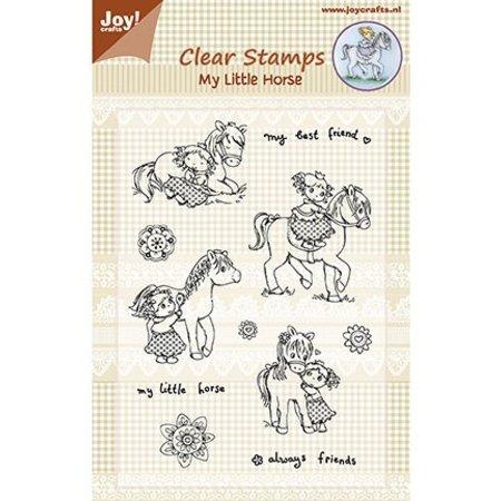 Joy!Crafts und JM Creation Transparent Stempelset: My Little Horse