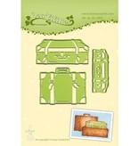 Leane Creatief - Lea'bilities Stempling og prægning stencil: trunk