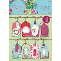 Parcel Tags Kit - Ved juletid Lucy Cromwell