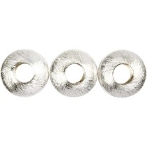 4 Exclusive Perle, Cercle, taille 17x17x5 mm