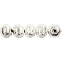 5 Eksklusive perle, møtrik, D: 10 mm