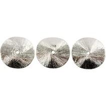 3 Eksklusive Hvælvet disk, størrelse 10x10x1 mm